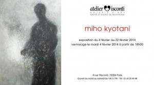 Miho exposition Atelier Visconti Paris 6e